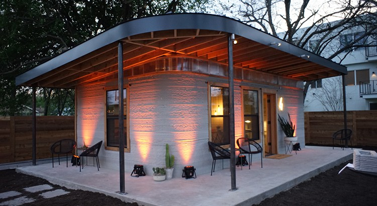 3D printing at the service of society: 3D homes